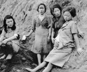 Many Chinese women were forced to become sex slaves