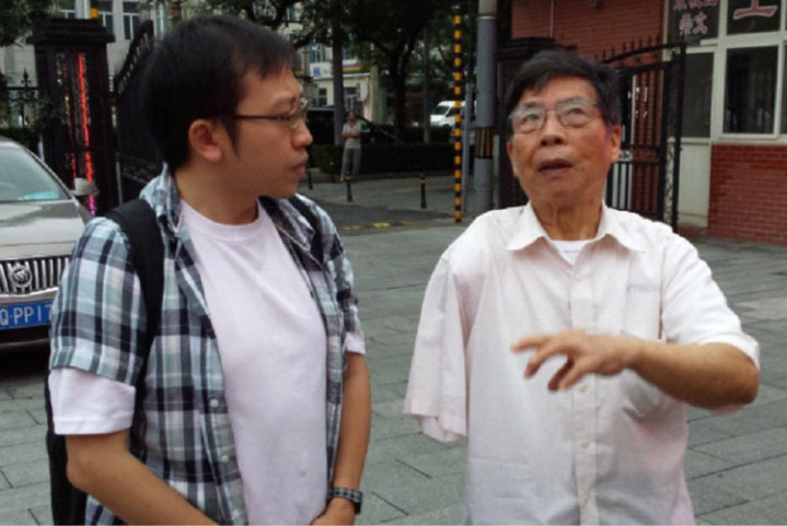 Listening to Mr Gao's wartime stories in China's capital