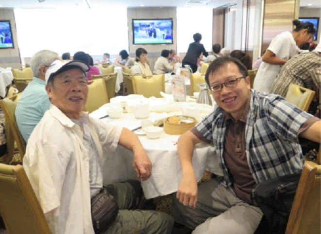 Reunion with Mr Gao in Hong Kong in August 2017